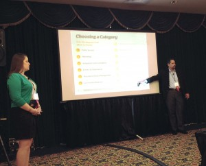 FleishmanHillard's Mike Slatin and Logan Kearins discuss tips on how to craft an award-winning entry at the PRSA Midwest District Conference.