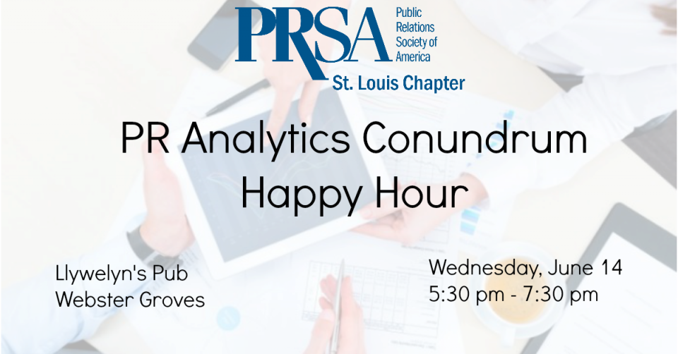 Analytics Happy Hour